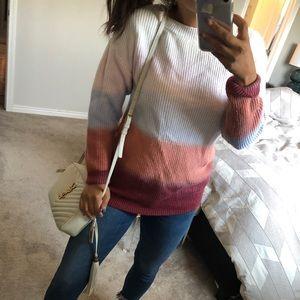 VICI ombré sweater size s